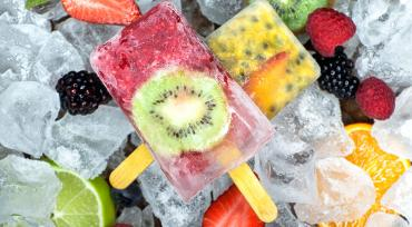 Icy Summer Fruit
