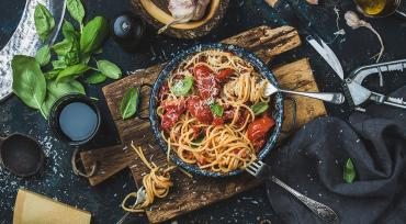 Spaghetti Ala Food Lab
