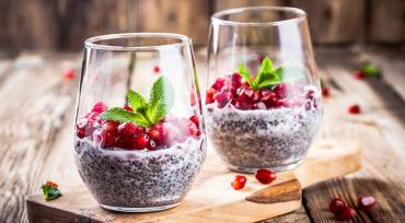 Pomegranate and Chia
